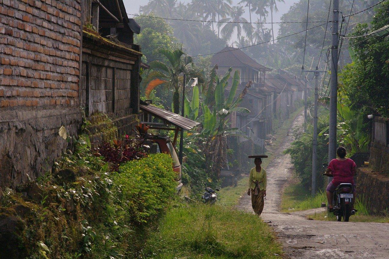 Interior rural de Bali