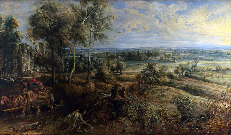 A View of Het Steen
