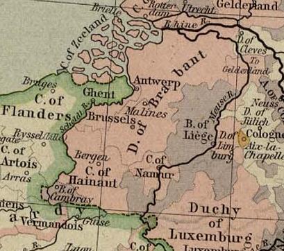 Brabant em 1477