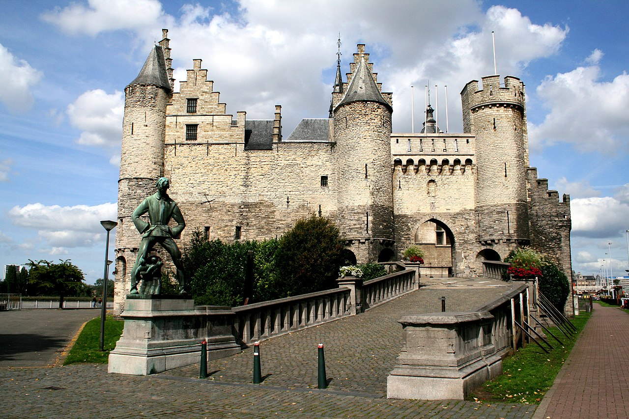 Castelo Het Steen em Antuerpia
