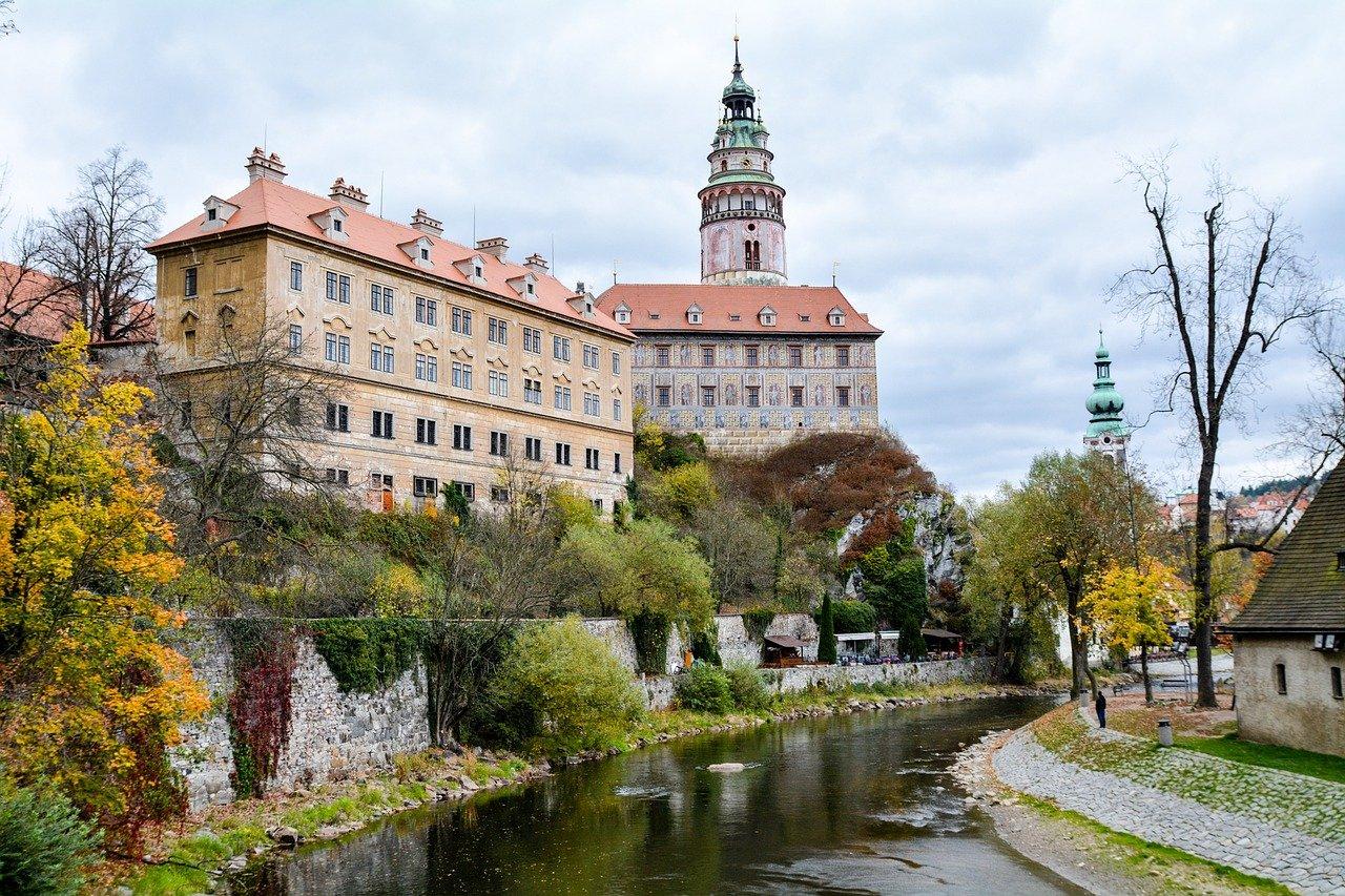 Foto do Castelo de Cesky Krumlov