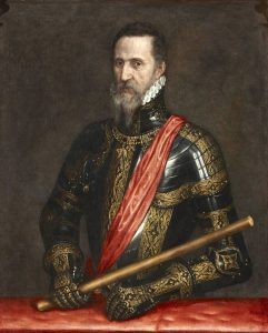 Fernando Alvarez de Toledo III Duque de Alba por Antonio Moro