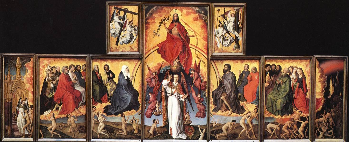 Rogier van der Weyden The Last Judgment Polyptych WGA25625