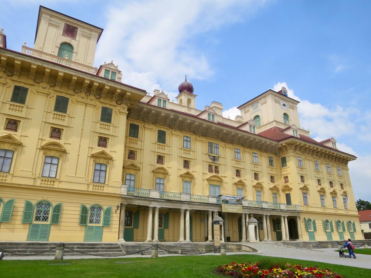 O Palácio Esterházy em Eisenstadt