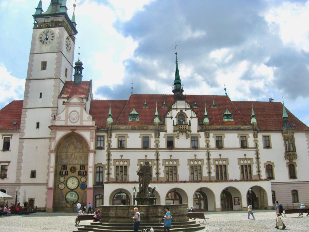 Foto da prefeitura de Olomouc