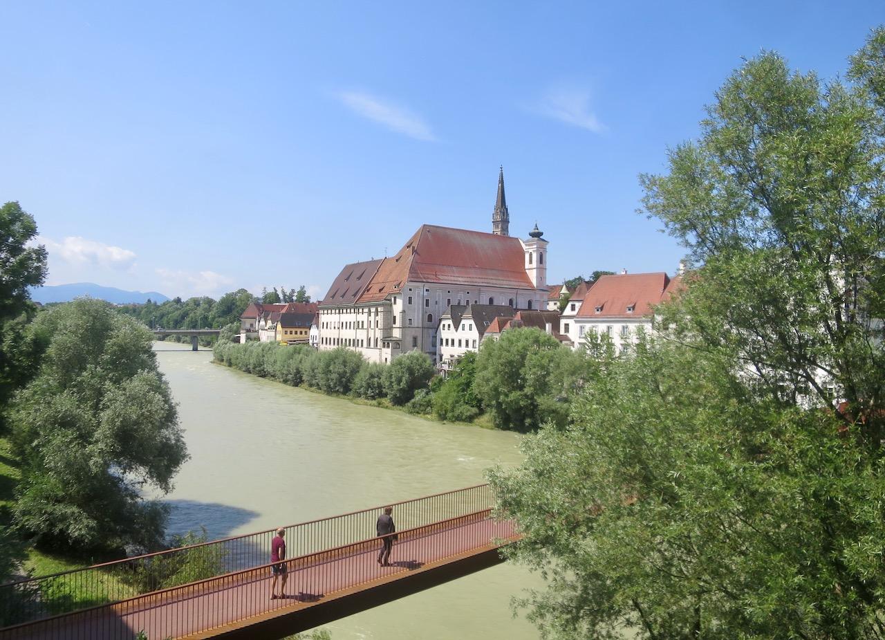 Rio Enns em Steyr