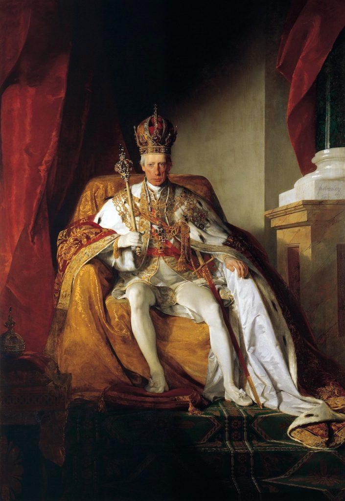 Francis II Holy Roman Emperor by Friedrich von Amerling 003