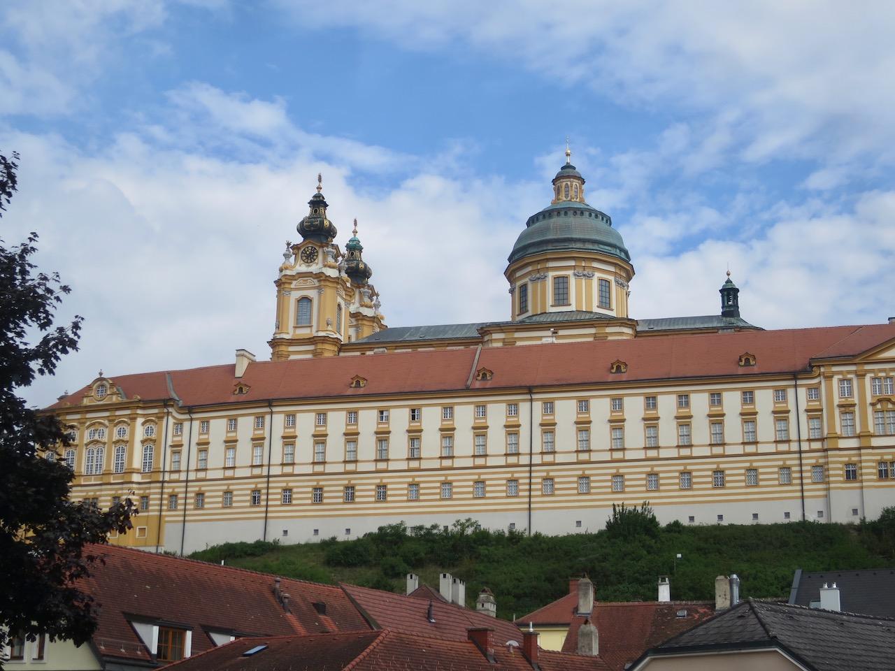 A Abadia de Melk an der Donau