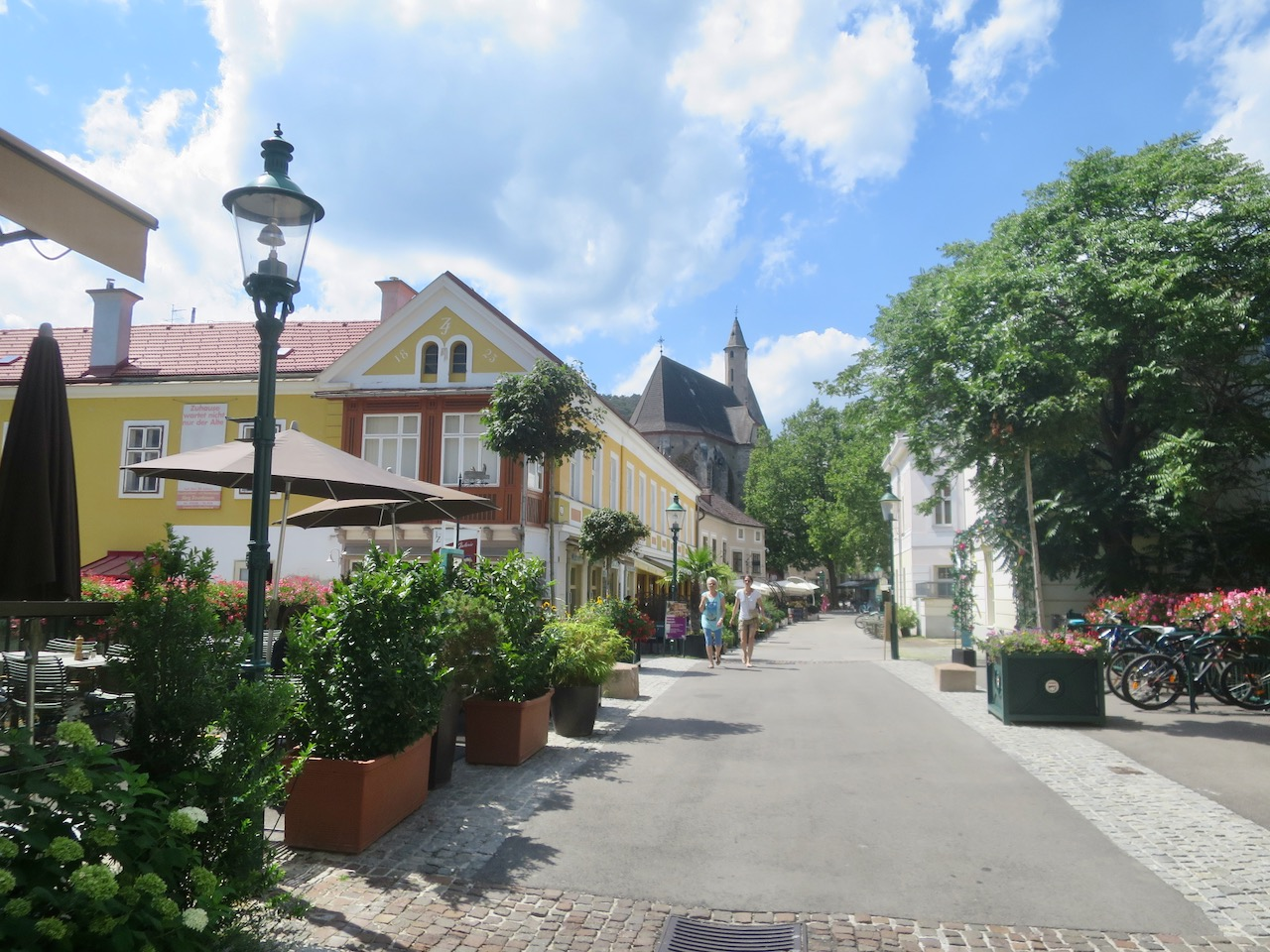 Foto do centro de Mödling