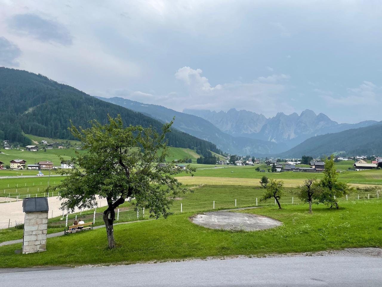 Vista para o Vale Gosau