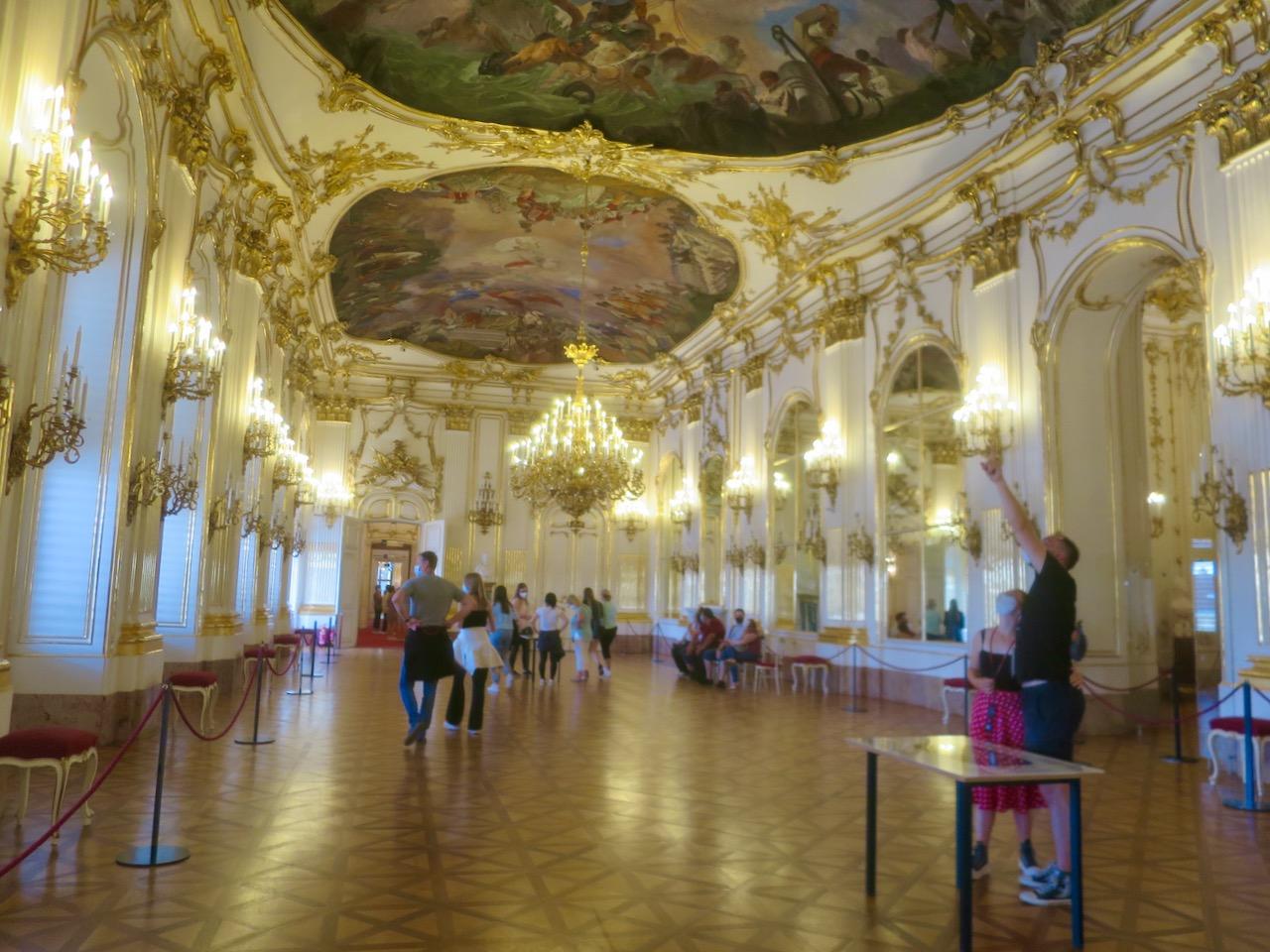 Interior do Palácio Schönbrunn